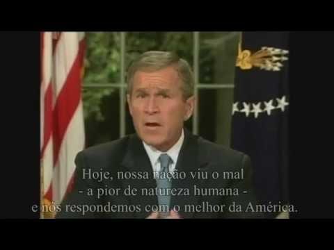 Discurso de George W. Bush sobre as torres gêmeas (legendado)