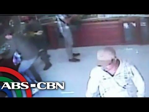 Huli sa CCTV: Sanlaan nilooban ng 6 na suspek