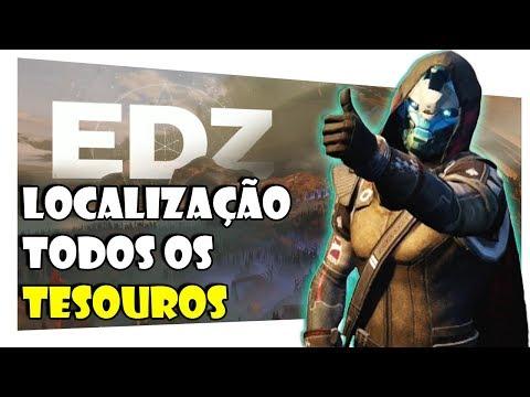 DESTINY 2 - LOCALIZAÇÃO DE TODOS OS TESOUROS do CAYDE-6 ZME