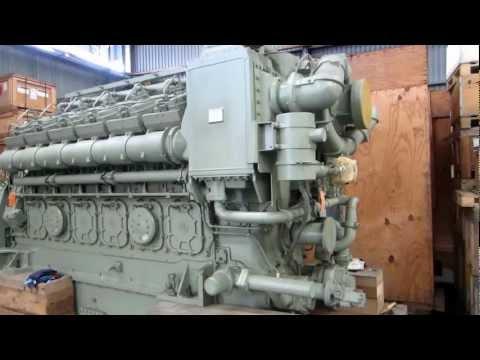 GE 12V228 Diesel Marine Engine for Sale (UNUSED)