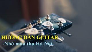 Nhớ mùa thu Hà Nội solo - Guitar Tab[Hướng dẫn Guitar]