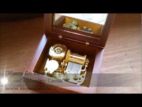 Music Box - Merry Go Round Of Life - Howl's Moving Castle