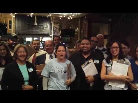 Petition Signatures Kick Off with Chicago City Clerk Susana A. Mendoza