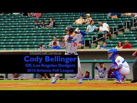 Cody Bellinger, OF, Los Angeles Dodgers — Slow Motion Swing Mechanics