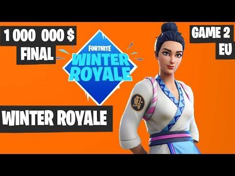 Fortnite Winter Royale Grand Final Game 2 EU Highlights [Fortnite Tournament 2018]