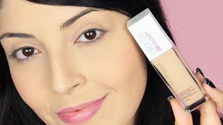 Fondotinta FULL COVERAGE MAYBELLINE Superstay 24h - Recensione