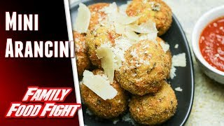Plucinotta Mini Arancini : Video recipe | Family Food Fight 2018