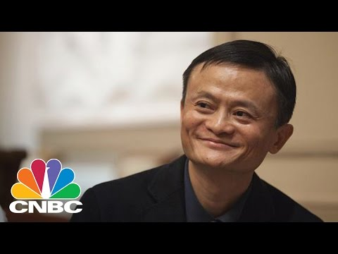 Alibaba's Jack Ma Arrives At Trump Tower | CNBC