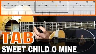 "Guitar Tab ""Sweet Child o' Mine"" by Guns N' Roses"