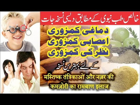 Best Herbal Remedy for Weak Eyesight | Mental Weakness and Muscular weakness || Lajwab Nuskha