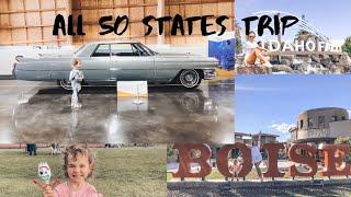 ЛУЧШИЙ АВТОМОБИЛЬНЫЙ МУЗЕЙ и первый поход в кино Литты. День 55-56, Айдахо || ALL 50 STATES TRIP