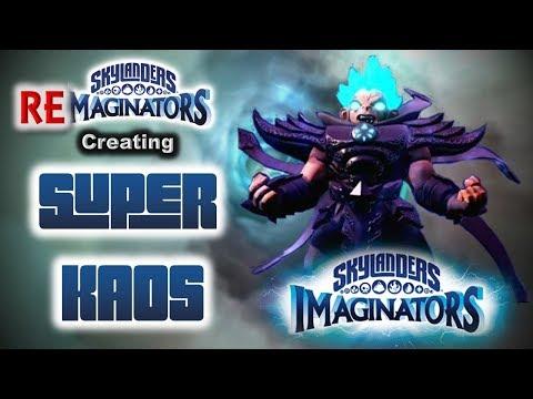 Brylander Creates...Super Kaos in Skylanders Imaginators! PLUS Super Kaos vs. Super Kaos Battle!