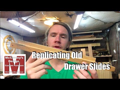 New Drawer Slides for an Old Dresser - 039