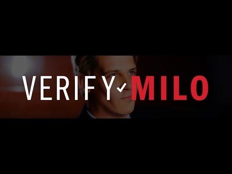 VerifyMilo.com: Fight Twitter's censorship of @Nero
