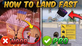 How to Land Fast in PUBG MOBILE & BGMI (Tips and Tricks) Guide/Tutorial Handcam screenshot 3
