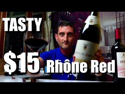 Affordable Rhone Wine | Great Buy for $15-$20 ! Tasting with Julien Episode #3 - - click image for video