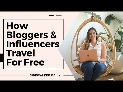 Blogger Trips | How Travel Bloggers Travel For Free (Everything you NEED to know!)
