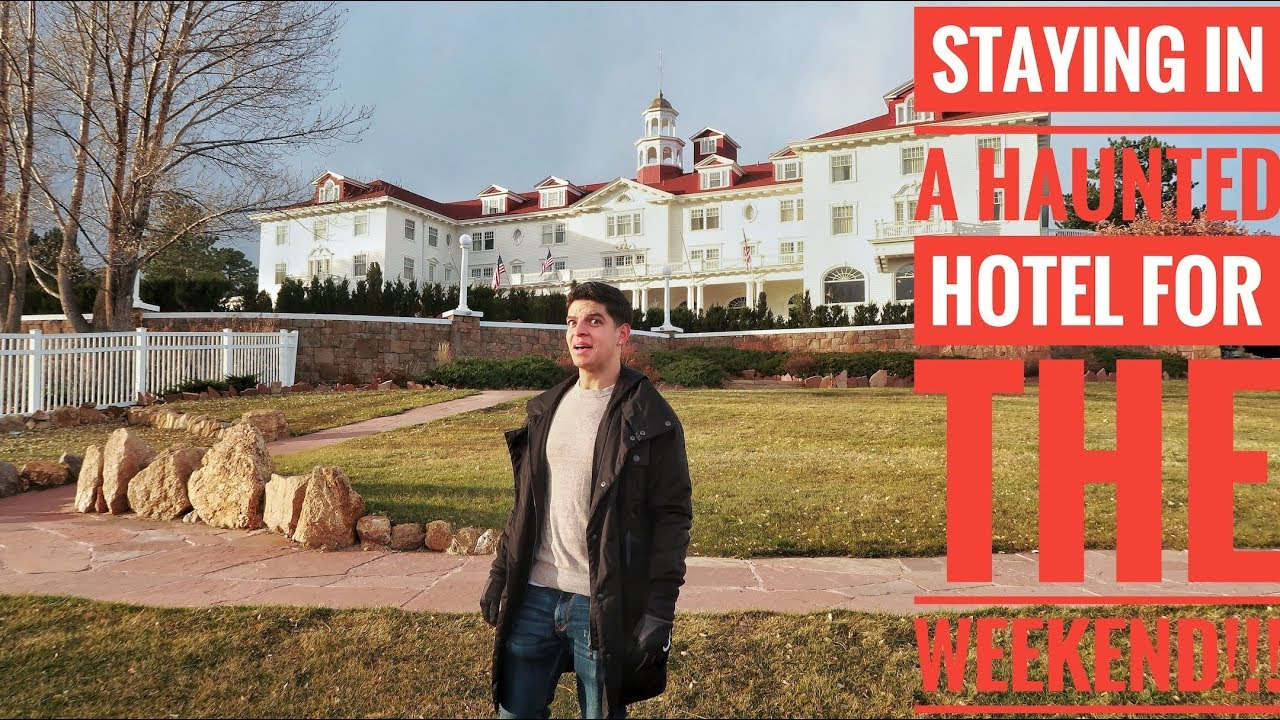 STAYED IN A HAUNTED HOTEL FOR THE WEEKEND!!! | Louis Giordano