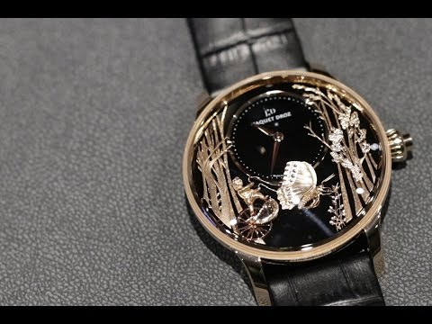 First Look: Jaquet Droz Butterfly Automaton