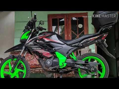 Modifikasi Motor Honda Verza(Part 1)