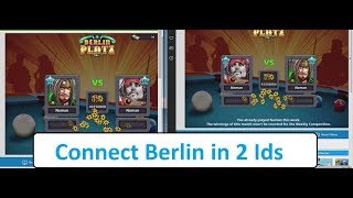How To Send 50M (Berlin) Challenge In 8 Ball Pool || How To Connect Berlin in 2 Ids ||