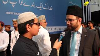 Interview Sadr Majlis Khuddam ul Ahmadiyya - Salana Ijtema 2015