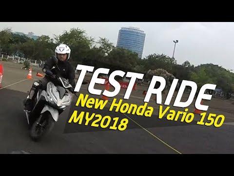 VLOG : Akhirnya Saya Deklarasikan saya Menyukai Vario  . ..  test Ride Honda Vario 150 MY2018