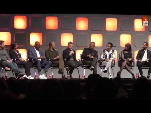 Star Wars Rogue One - the cast at Star Wars Celebration London 2016
