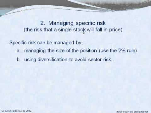 ASA Stock Market Course Session 1 - Risk and the investment plan