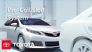 Toyota Safety Sense-C™(TSS-C) Pre-Collision System (PCS) | Select Models | Toyota