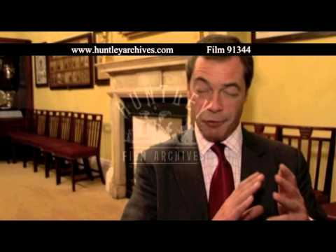 Interview with Nigel Farage, 2007 - Film 91344