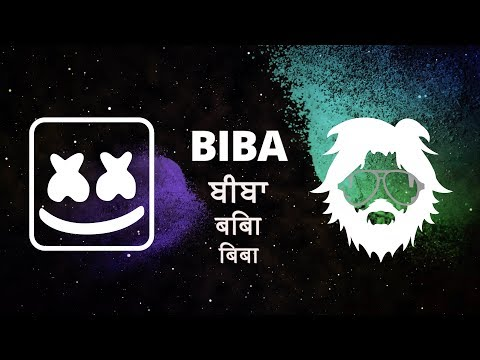 Marshmello X Pritam - BIBA Feat. Shirley Setia (Official Lyric Video)