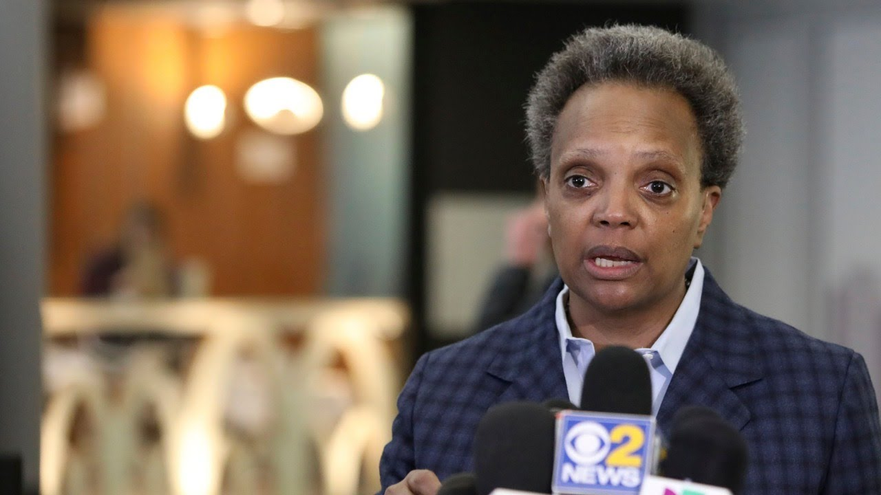 Chicago Mayor Lori Lightfoot Gives Update on Coronavirus Response | NBC News (Live Stream Recording)