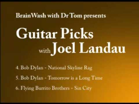 Ovation Custom Legend 16194 WQFS 909 FM Guitar Picks with Joel Landau 46