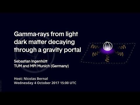 [W49] Sebastian Ingenhütt: Gamma-rays from Light Dark Matter Decaying Through a Gravity Portal