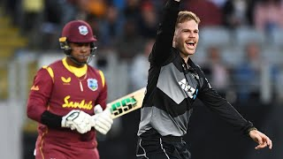 FULL MATCH | BLACKCAPS v West Indies - T20I 1, Eden Park Auckland 2020