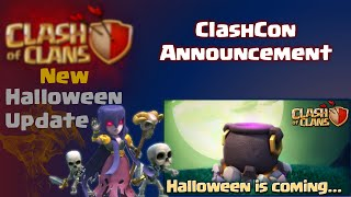 Clash of Clans | New Clash of Clans Update Halloween 2015! ClashCon Update TH11