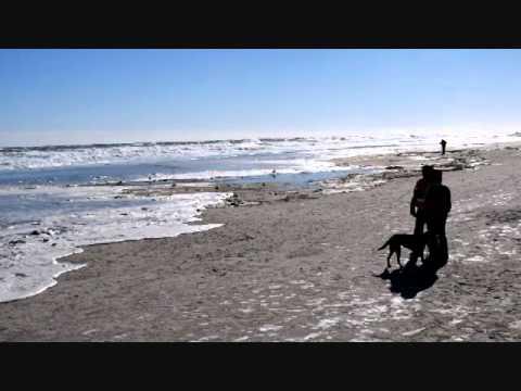 Hampton Beach High Surf Jan 24 2016