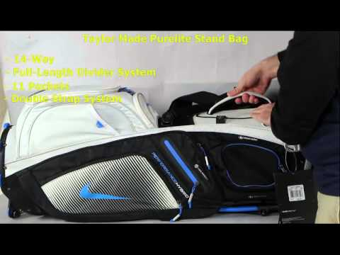 ad2851625fc2 Nike Performance Hybrid Carry   Stand Bag - YouTube