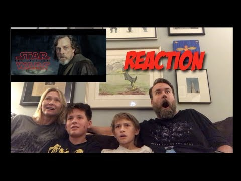 Star Wars The Last Jedi trailer (Official)  Reaction