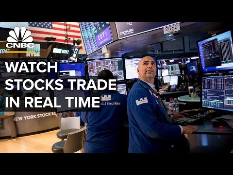 Watch Stocks Trade In Real Time After Fed Slashes Rates – 3/16/2020