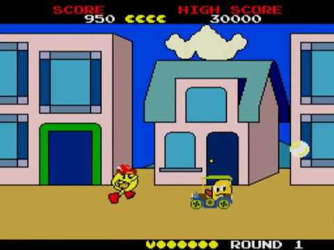 Pac-Land [1989 United Amusements PC Engine based] Arcade MAME paclandp