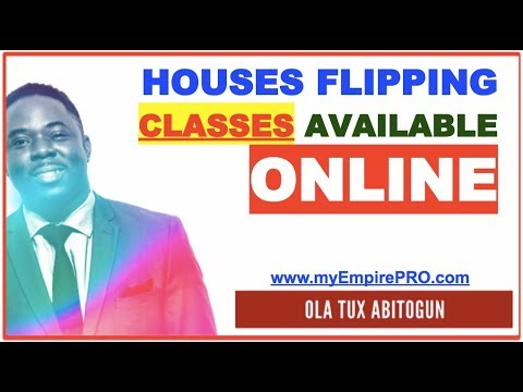 House Flipping Classes Available Online - $10 - $20K Per Deal