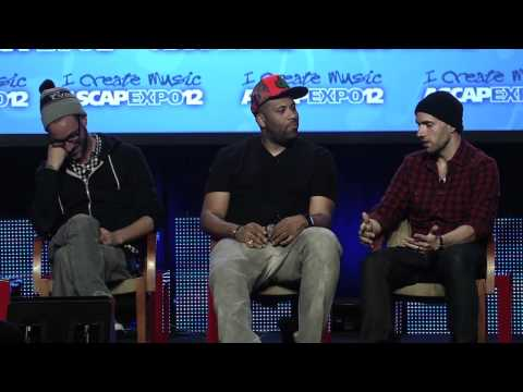 DJ White Shadow, Don Cannon, Mick Boogie at the 2012 ASCAP EXPO (Part 1 of 2)