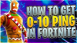 How to Get 0-10 PING in Fortnite Season 8 - Fix Lag and Improve Connection