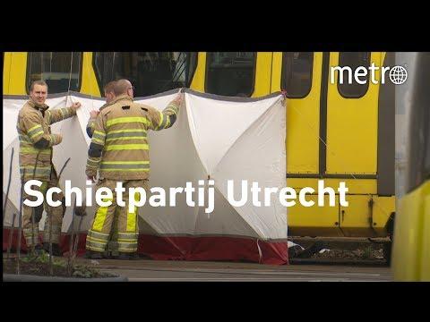 Schietpartij Utrecht - Pas op !! Bevat schokkende beelden