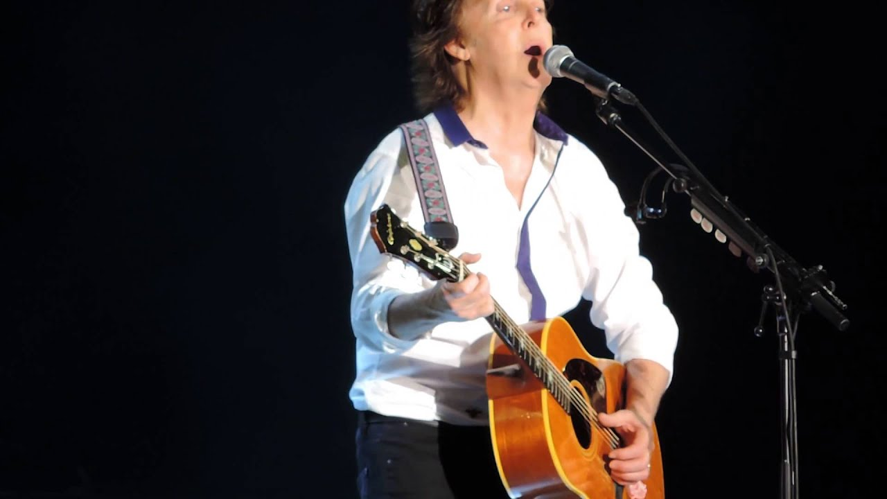 Paul McCartney Yesterday Out There Tour Live In Washington DC 7 12 2013