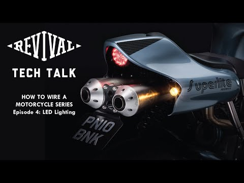 How To Wire A Motorcycle Series, Episode 4: LED Lights. What Are They, Why Do I need Them?