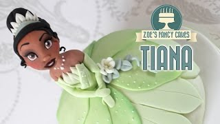 Disney Princess Tiana doll cake The Princess and the Frog