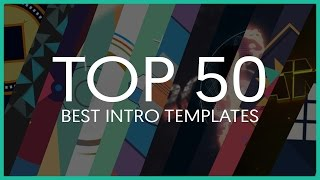 Top 50 Best Intro Templates (Sony Vegas, After Effects, Cinema 4D) thumbnail